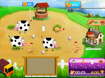 Frenzy Farming time management strategy Unity3d Game Kit