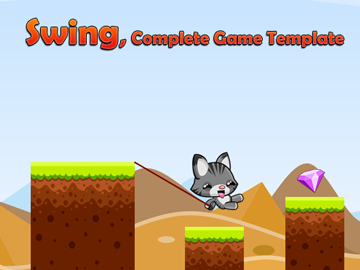 Swing unity game template